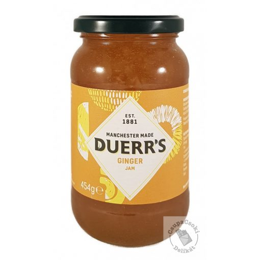 Duerr's Ginger Jam Gyömbér dzsem 454g