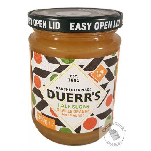 Duerr's Half Sugar Seville Orange Narancslekvár csökkentett cukortartalommal 300g