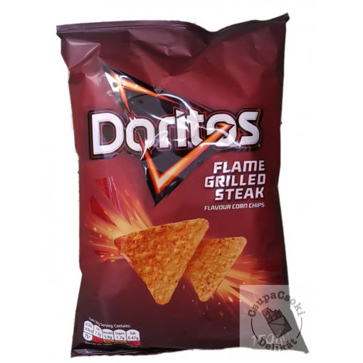 Doritos Flame Grilled Steak Kukorica chips 150g