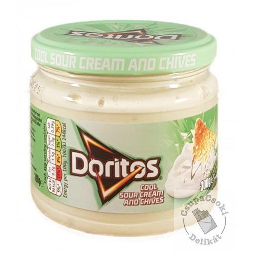 Doritos Sour Cream&Chives Snidlinges-tejfölös mártogató szósz 300g