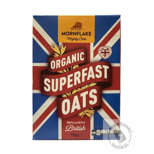 Mornflake Organic Superfast Oats Bio zabpehely hozzáadott cukor nélkül 750g