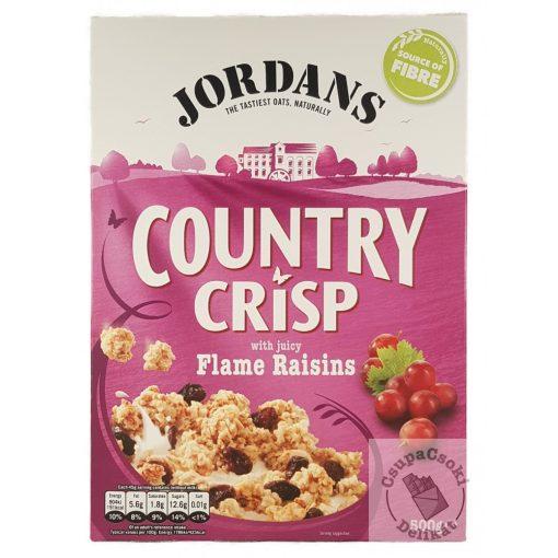 Jordans Country Crisp Flame Raisins Gabonapehely mazsolával 500g