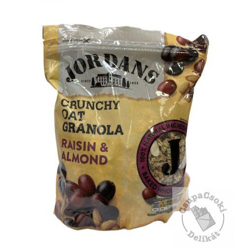 Jordans Raisin&Almond Granola mazsolával és mandulával 750g
