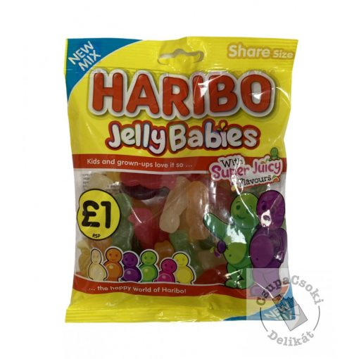 Haribo Jelly Babies Gumicukor 160g
