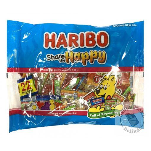 Haribo Share The Happy Gumicukor válogatás 352g