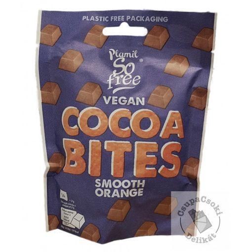 So Free Cocoa Bites Smooth Orange Tejmentes tejcsokoládé falatok narancs ízesítéssel 108g