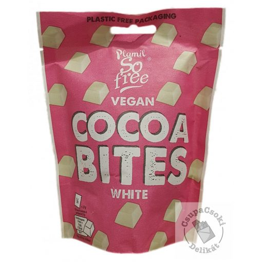 So Free Cocoa Bites White Tejmentes fehércsokoládé falatok 108g