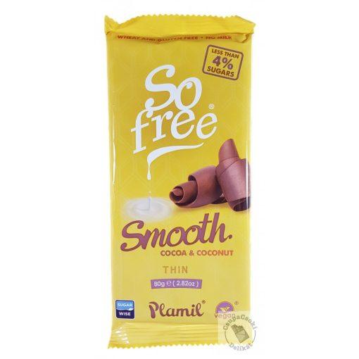 So Free Smooth Tejmentes és gluténmentes csokoládé 80g