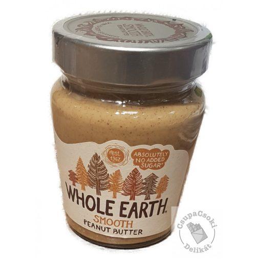 Whole Earth Smooth Mogyoróvaj hozzáadott cukor nélkül 227g