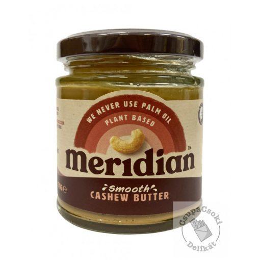 Meridian Smooth Cashew Butter Kesudió krém hozáadott cukor nélkül 170g