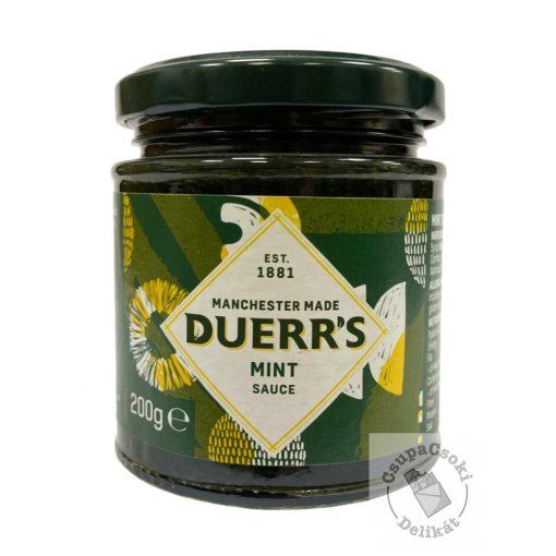 Duerr's Mint Sauce Menta szósz 200g