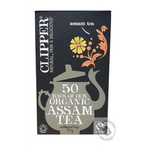 Clipper Assam Bio fekete tea 50 filter 125g