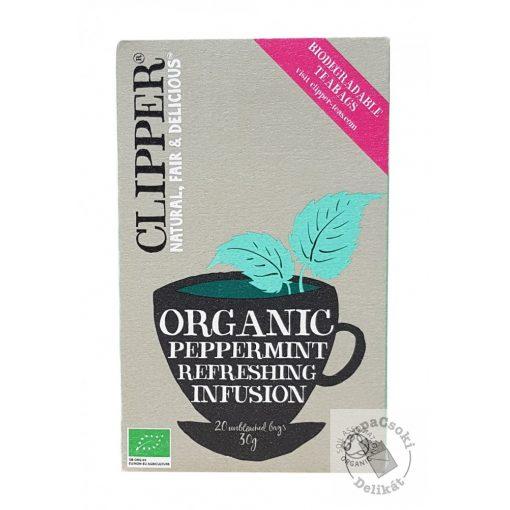 Clipper Bio Peppermint Borsmenta tea 20 filter 30g