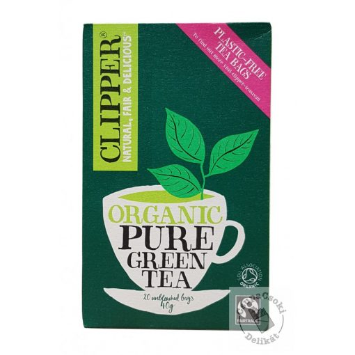 Clipper Pure Green Zöld tea 20 filter 40g