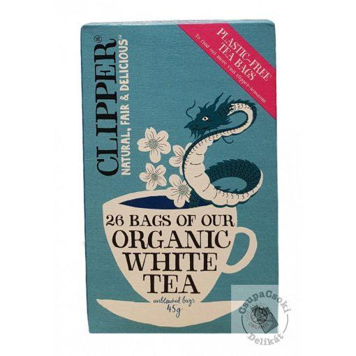 Clipper Bio fehér tea 26 filter 45g