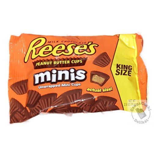Reese's Miniature Cups Mini mogyoróvajas kosárkák 72g