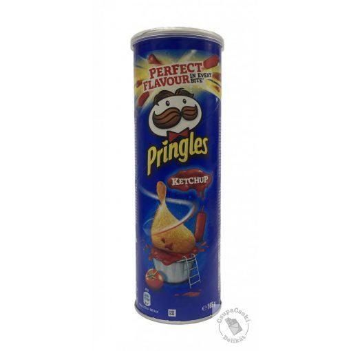 Pringles Ketchup ízesítésű chips 165g