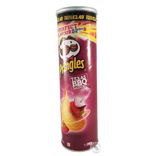 Pringles Texas BBQ Sauce ízesítésű chips 200g