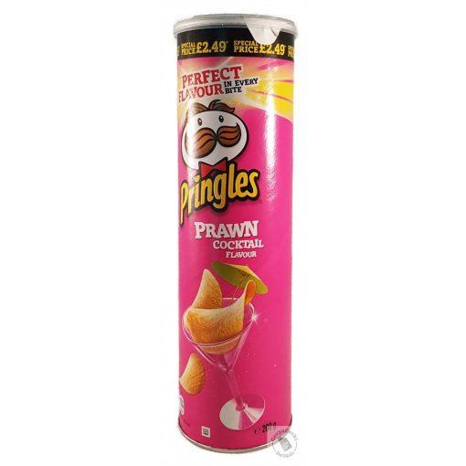 Pringles Prawn Coctail Koktélrák ízesítésű chips 200g