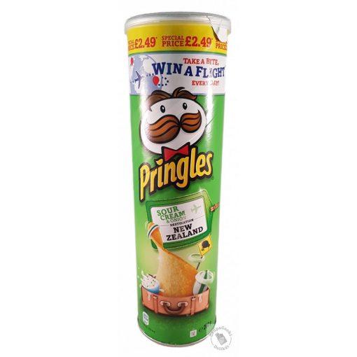 Pringles Sour Cream&Onion Hagymás-tejfölös ízesítésű chips 200g
