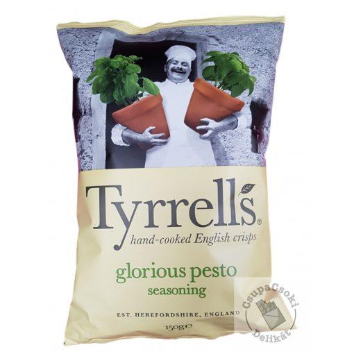 Tyrrell's Glorious Pesto Burgonyachips pesto-val 150g
