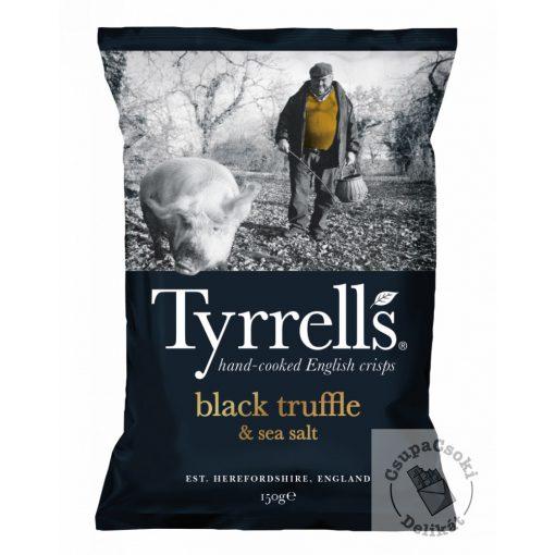 Tyrrell's Black Truffle&Sea Salt Burgonyachips szarvasgombával 150g