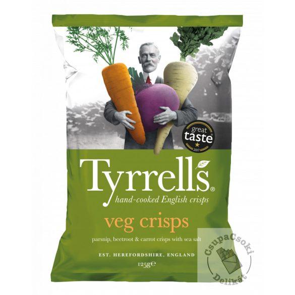 Tyrrell's Vegyes zöldségchips 125g