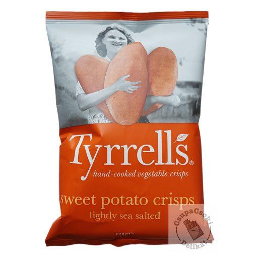Tyrrell's Édesburgonya chips enyhén sós 125g