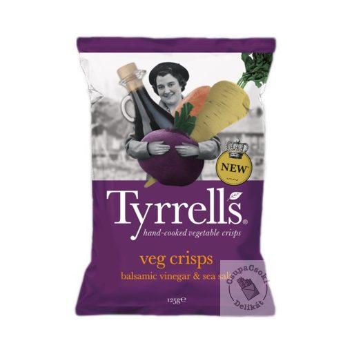 Tyrrell's Vegyes zöldségchips balzsamecettel 125g
