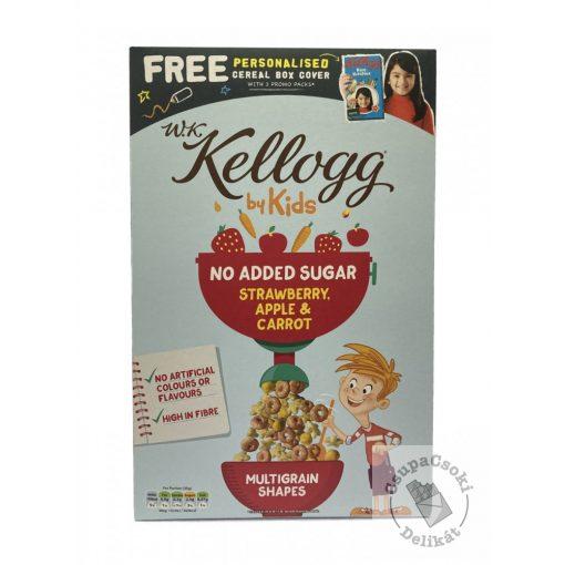 Kellogs by Kids Gabonapehely Eper-alma-sárgarépa, NAS 350g