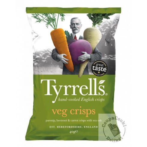 Tyrrell's Vegyes zöldségchips 40g