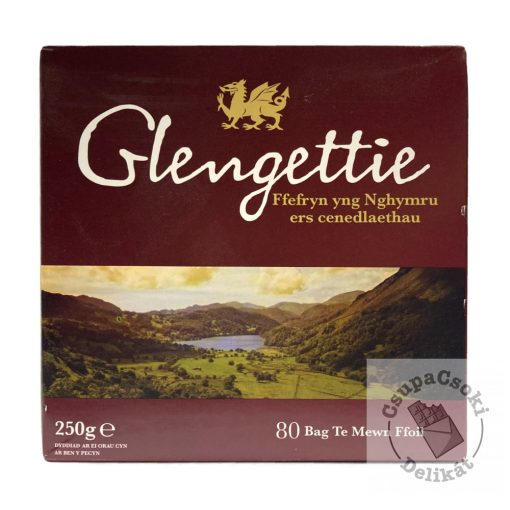 Glengettie Fekete tea 80 filter, 250g