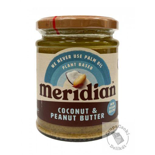 Meridian Coconut&Peanut Butter Mogyoróvaj kókusszal, hozzáadott cukor nélkül 280g