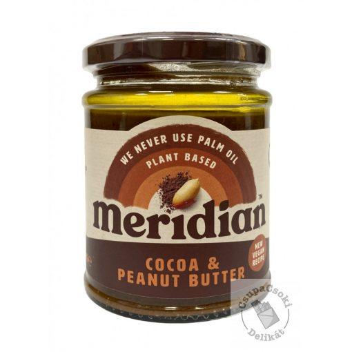 Meridian Cocoa&Peanut Butter Mogyoróvaj kakaóval, hozzáadott cukor nélkül 280g