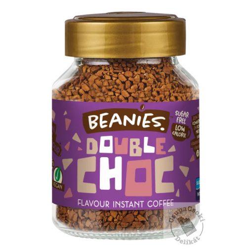 Beanies Double Chocolate Csokis ízesített instant kávé 50g