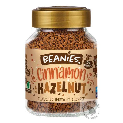 Beanies Cinnamon Hazelnut Fahéj-mogyoró ízesítésű azonnal oldódó kávé 50g