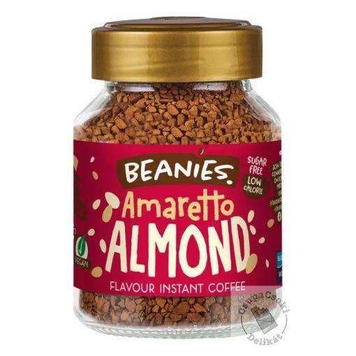 Beanies Amaretto Almond Mandulás ízesítésű azonnal oldódó kávé 50g