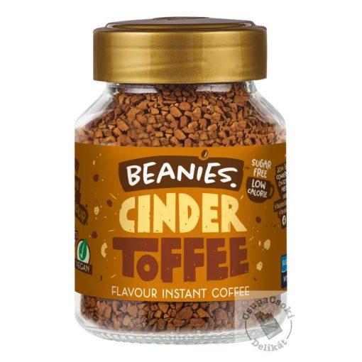 Beanies Cinder Toffee Karamell ízesítésű  azonnal oldódó kávé 50g