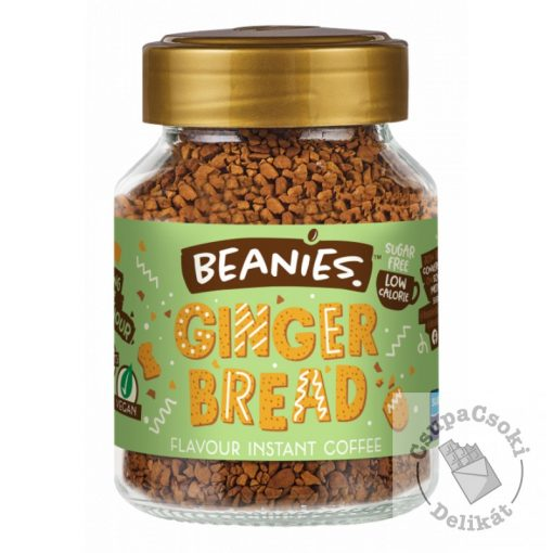 Beanies Gingerbread Mézeskalács ízesített instant kávé 50g