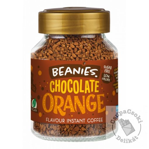 Beanies Chocolate Orange Narancsos csoki ízesítésű azonnal oldódó kávé 50g