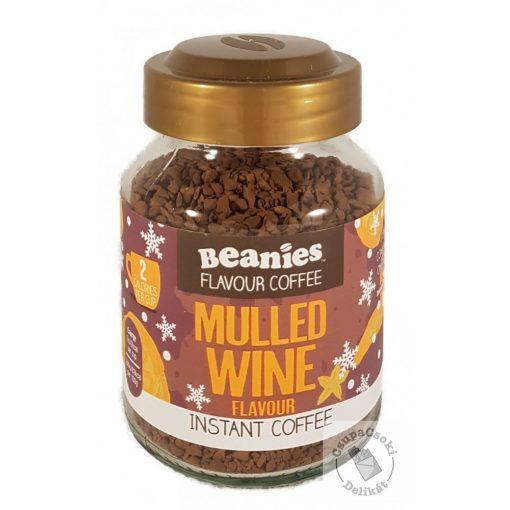 Beanies Mulled Wine Forralt bor ízesítésű azonnal oldódó kávé 50g