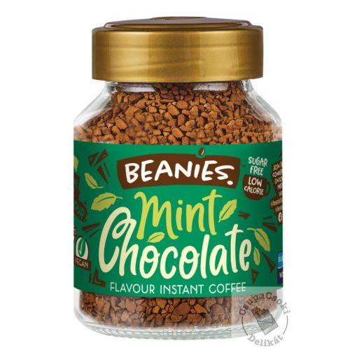 Beanies Mint Chocolate Mentás-csoki ízesítésű azonnal oldódó kávé 50g