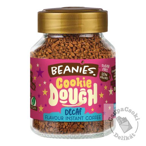 Beanies Cookie Dough Csokis süti ízesítésű koffeinmentes azonnal oldódó kávé 50g