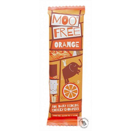 Moo Free Orange Narancsos tejmentes csokoládészelet 23g
