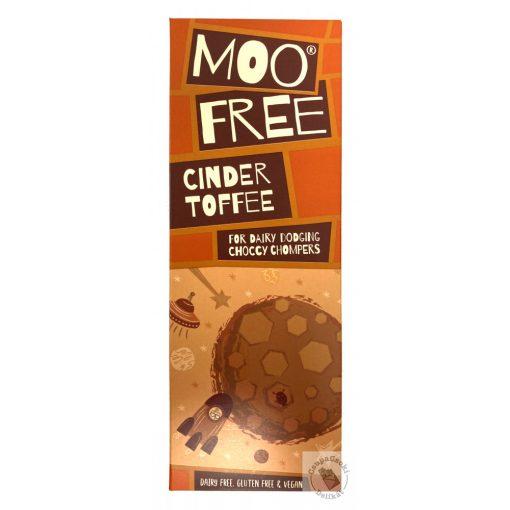 Moo Free Marvellously Cinder Toffee Tejmentes csokoládé 80g