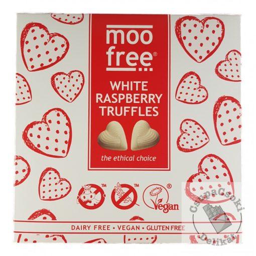 Moo Free Fehércsokis-málnás tejmentes desszert 108g