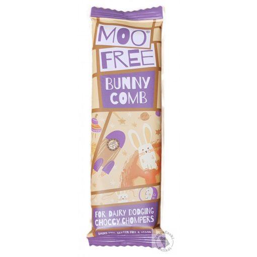 Moo Free BunnyComb Tejmentes csokoládé törökmézzel 20g
