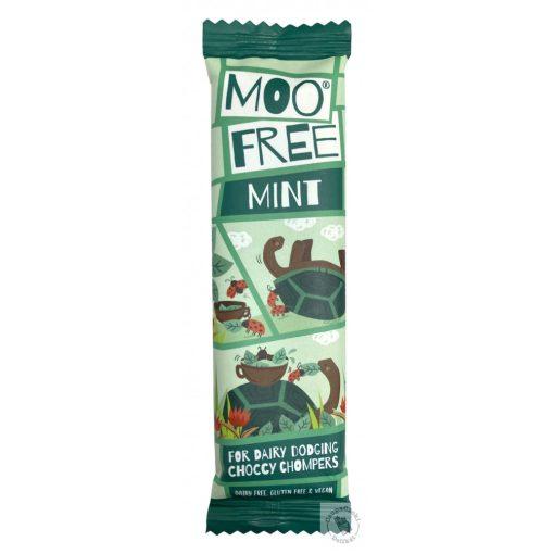 Moo Free Mint Mentás tejmentes csokoládé 20g