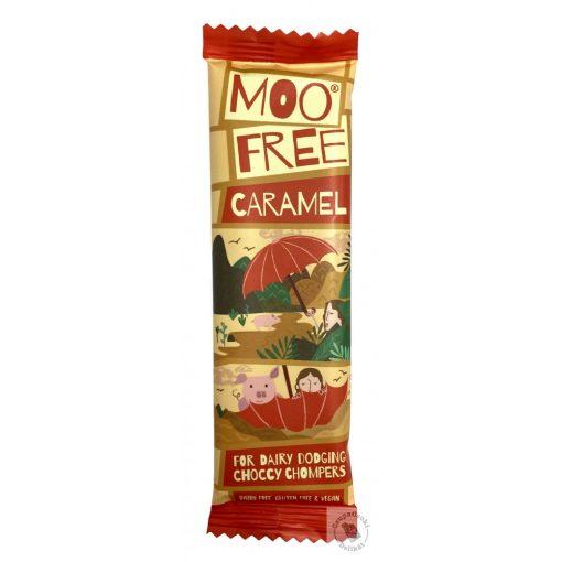 Moo Free Caramel Tejmentes karamellás csokoládé 20g