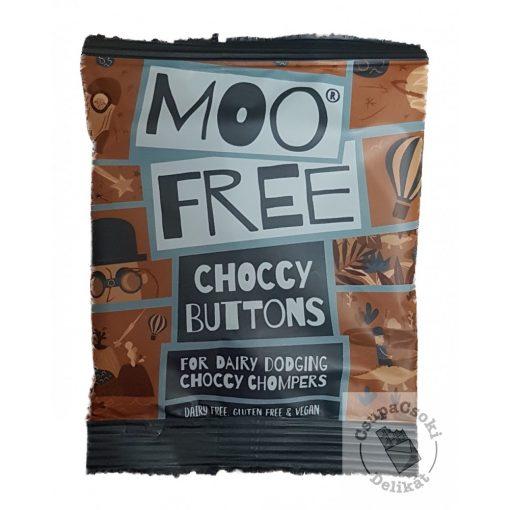 Moo Free Choccy Buttons Tejmentes csokoládé drazsé 25g